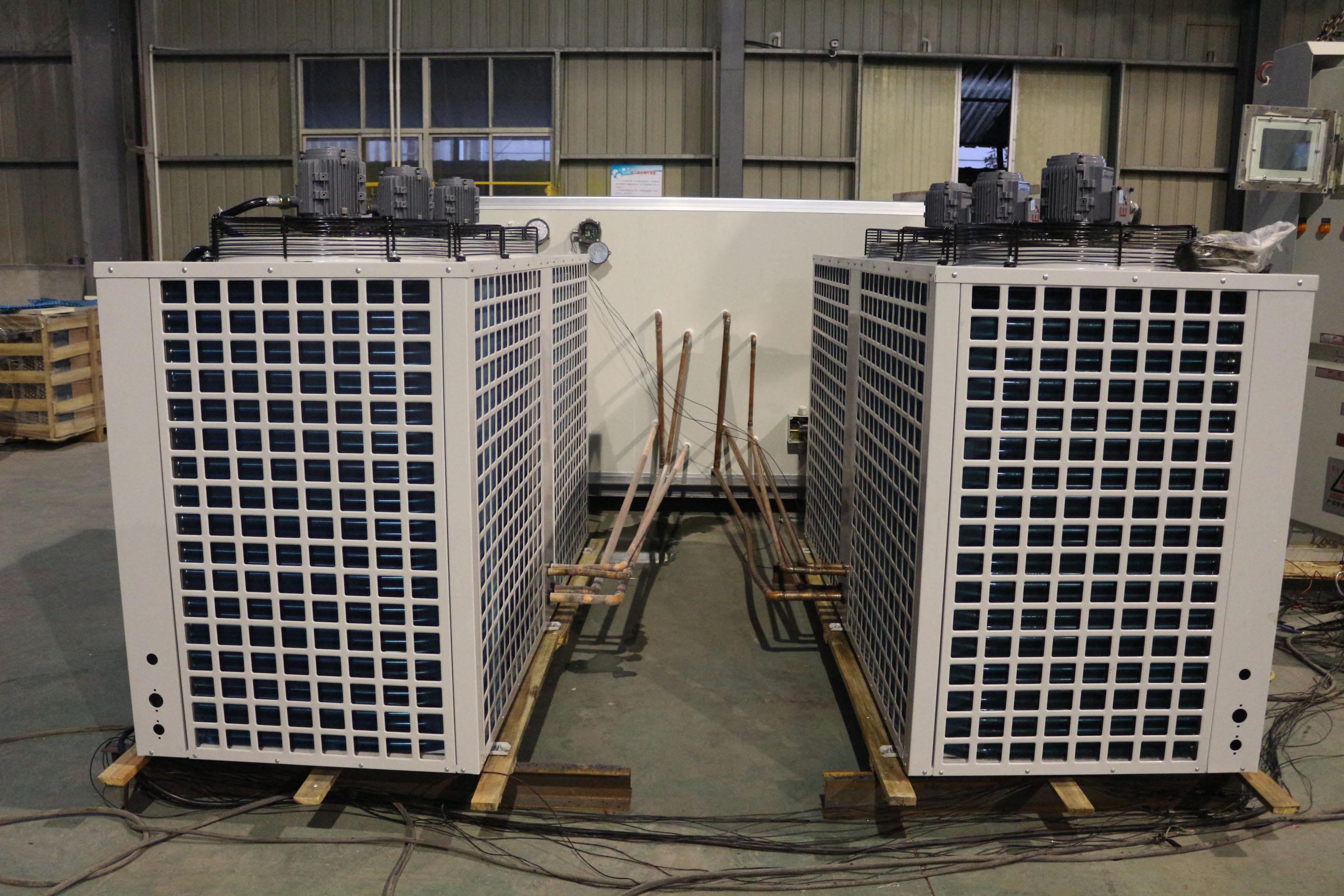 直膨式风冷热泵系统机组