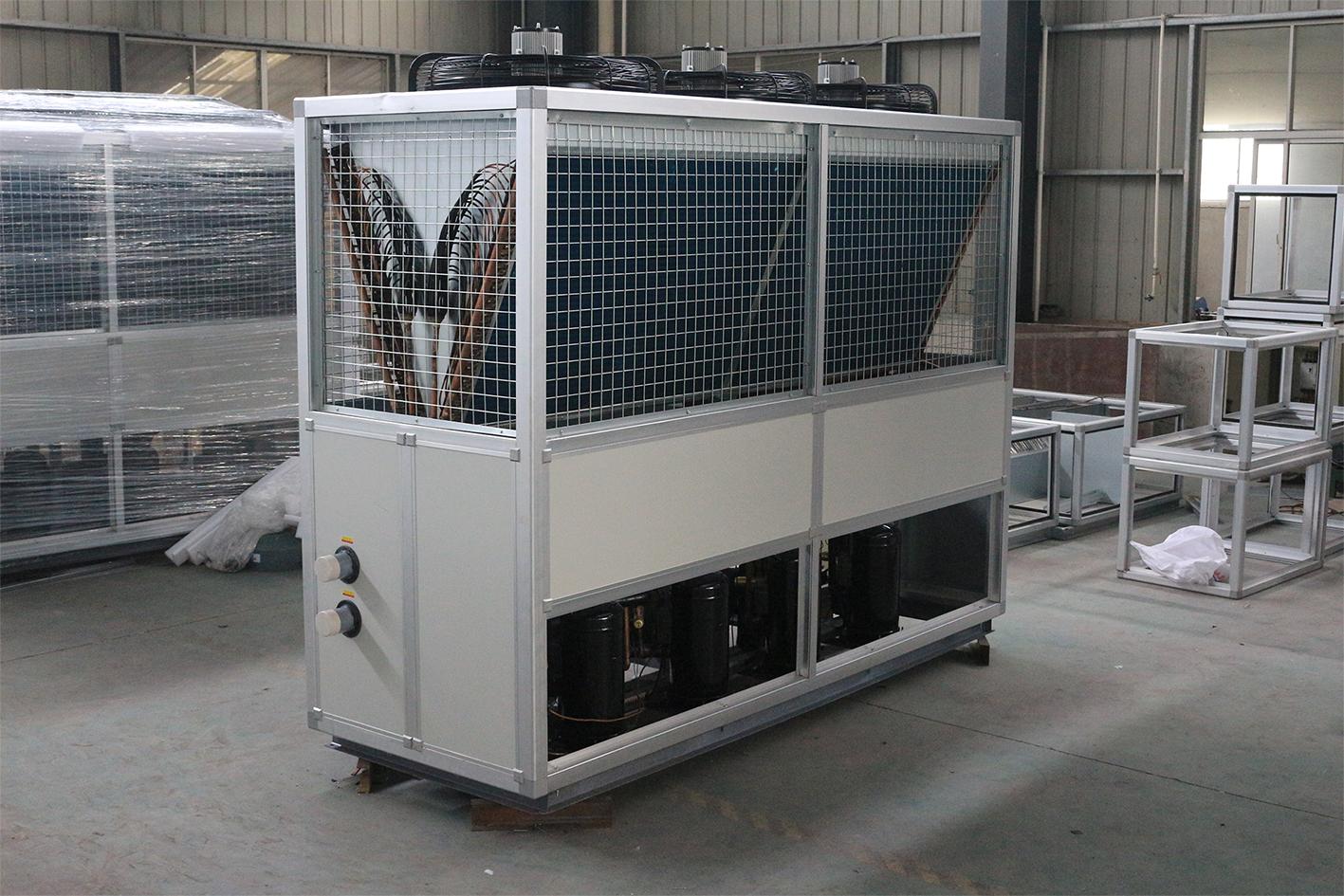 风冷热泵机组工作原理的特点