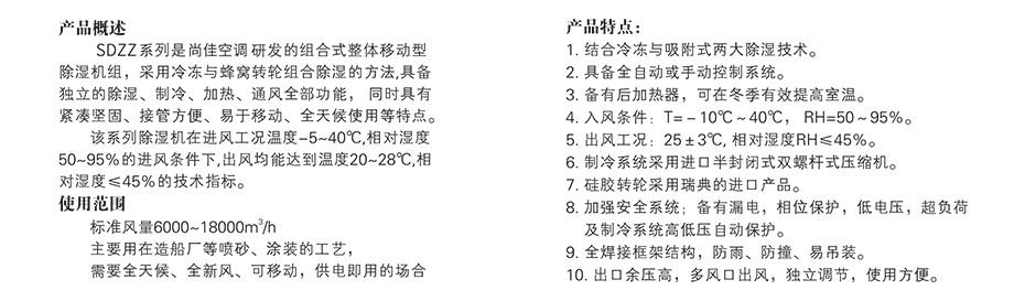 四季型、涂装专用组合式除湿机_10