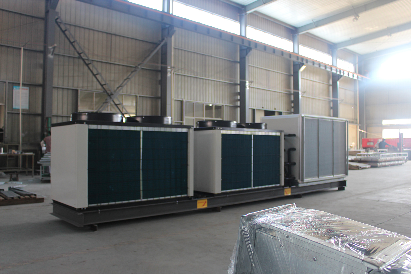 手术室中央空调无尘净化直膨式空调机组30
