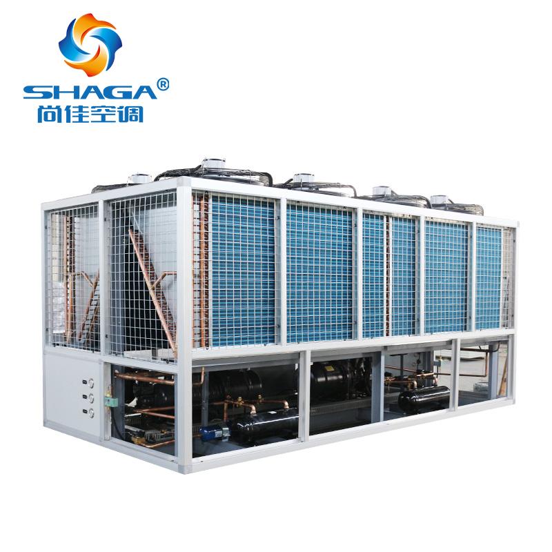 风冷热泵螺杆空调机组
