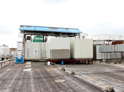 尚佳空调恒温恒湿空调机组客户-上海克莉丝汀外高桥工厂