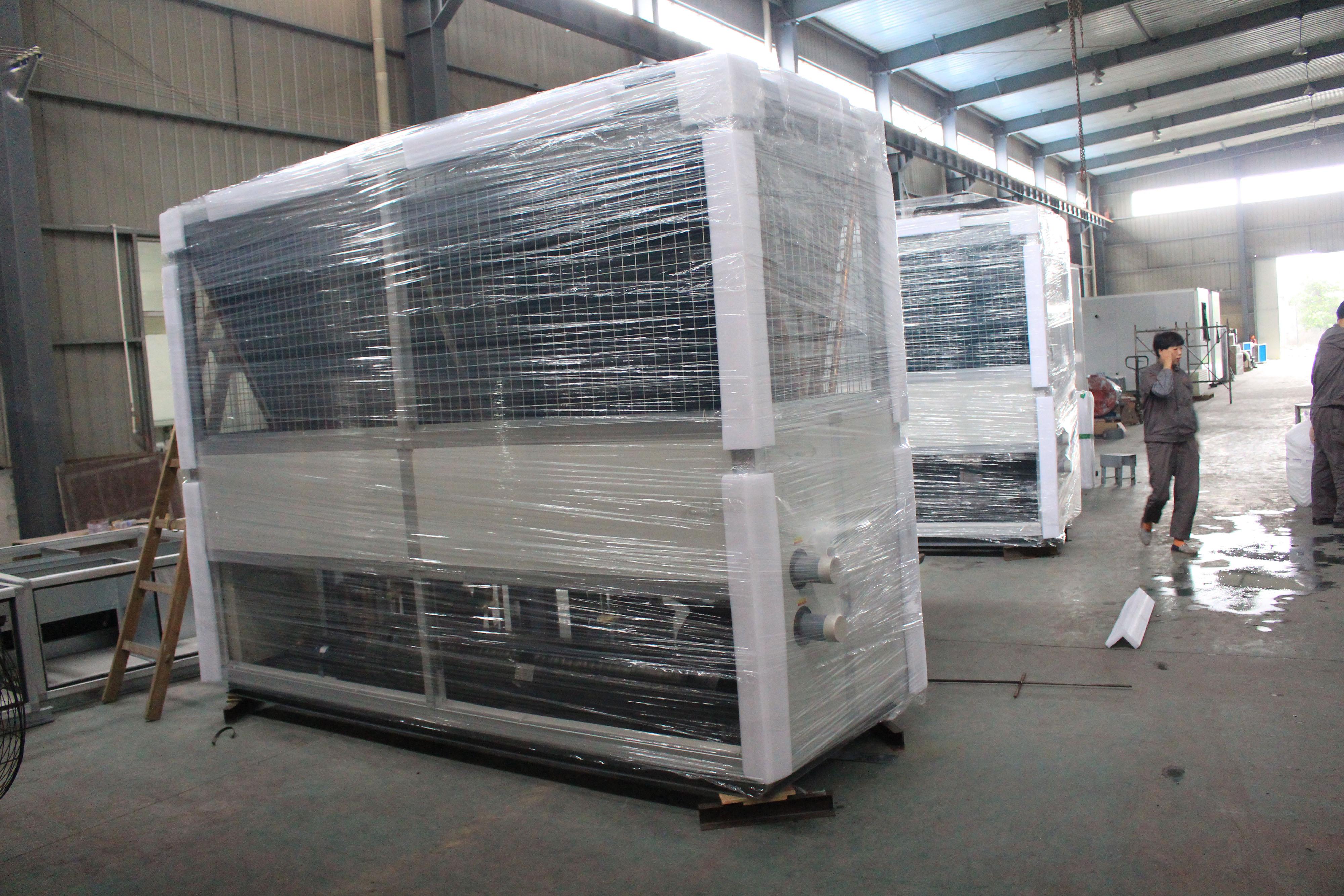 模块式风冷热泵机组和螺杆式风冷热泵机组的区别